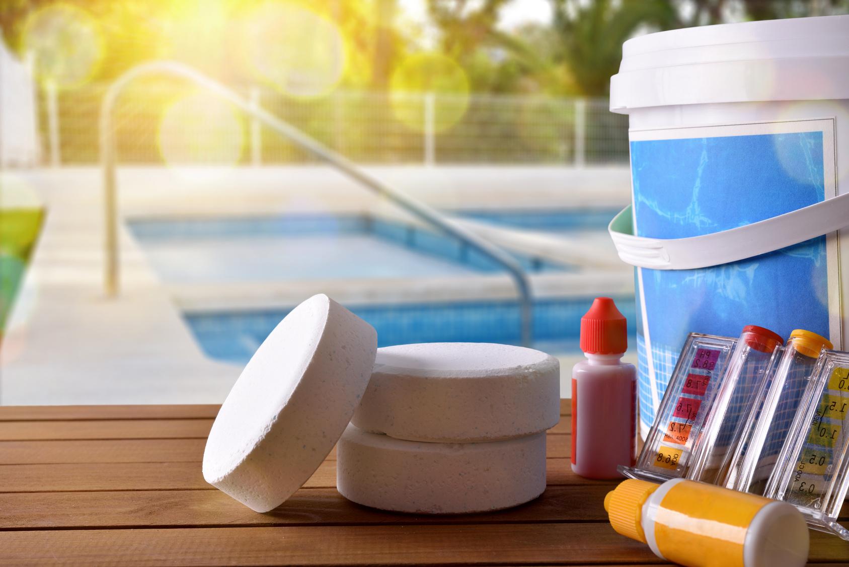 Poolchemie für dein Pool