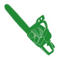 Benzin-Motorsägen
