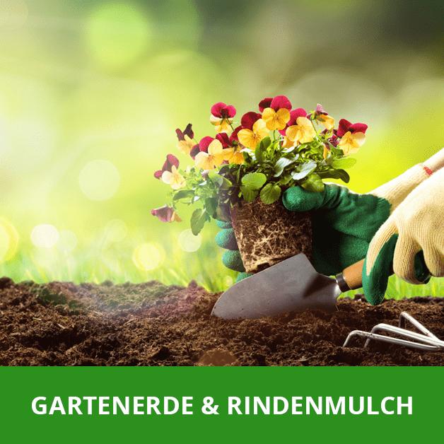 Rasensamen und Gartenerde